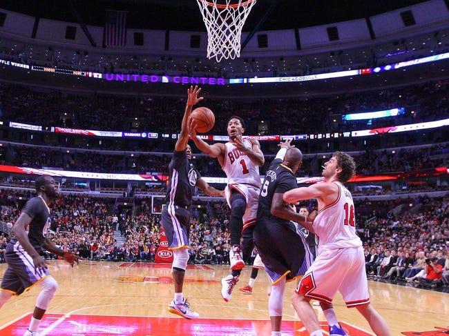 Warriors vs. Bulls - 1/27/15 NBA Pick, Odds, and Prediction