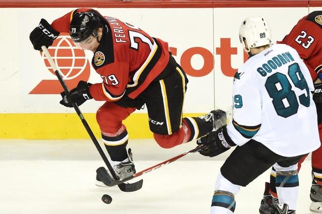 Sharks vs. Flames - 1/17/15 NHL Pick, Odds, and Prediction