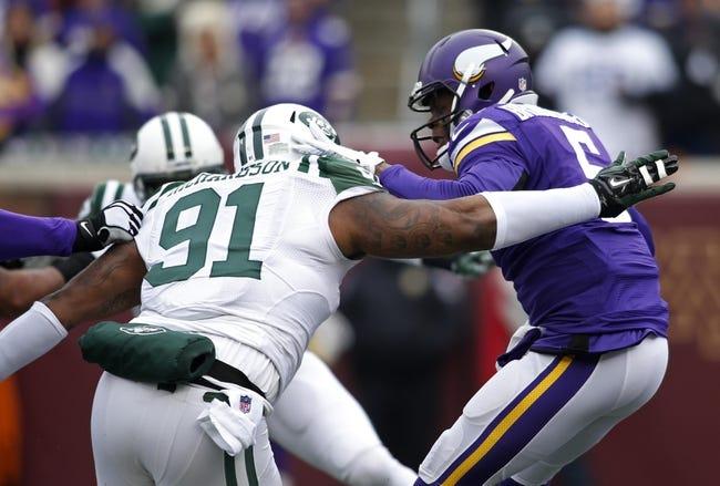 New York Jets at Minnesota Vikings NFL Score, Recap, News and Notes