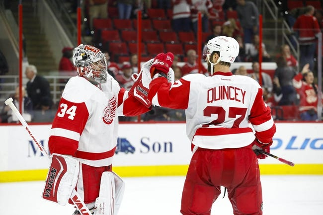 Carolina Hurricanes vs. Detroit Red Wings - 4/11/15 NHL Pick, Odds, and Prediction