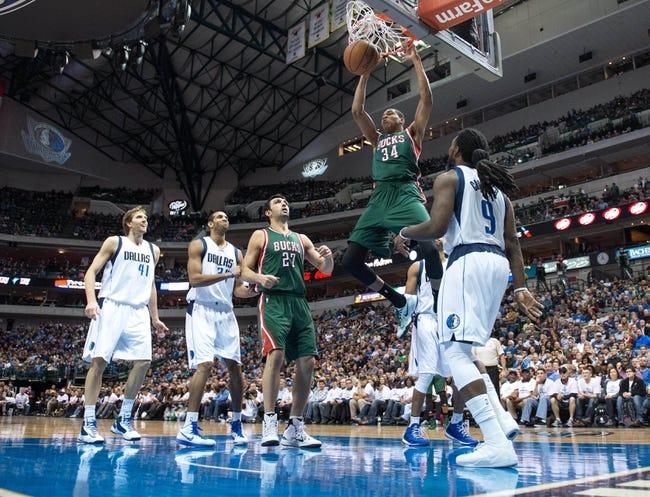 Dallas Mavericks vs. Milwaukee Bucks - 12/28/15 NBA Pick, Odds, and Prediction