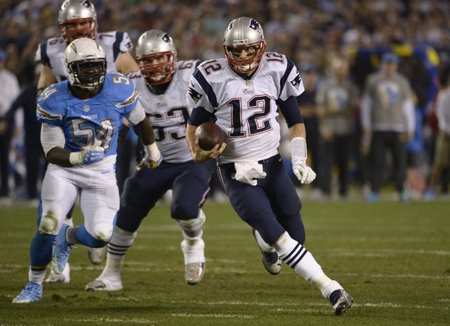 New England Patriots at San Diego Chargers NFL Score, Recap, News and Notes