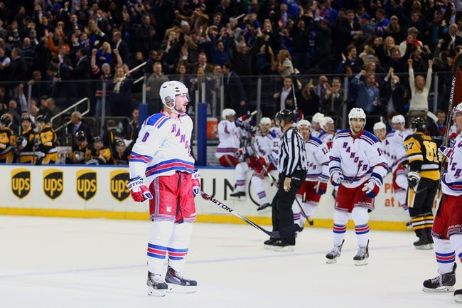 Penguins vs. Rangers - 1/18/15 NHL Pick, Odds, and Prediction