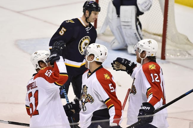 Panthers vs. Blues - 2/15/15 NHL Pick, Odds, and Prediction