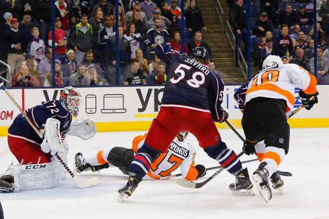 Columbus Blue Jackets vs. Philadelphia Flyers - 2/13/15 NHL Pick, Odds, and Prediction