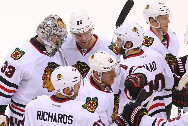 Chicago Blackhawks vs. New Jersey Devils - 2/13/15 NHL Pick, Odds, and Prediction