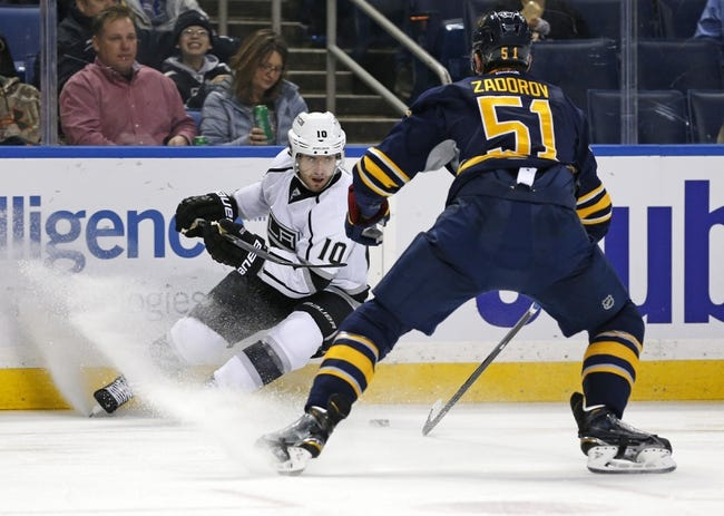 Buffalo Sabres vs. Los Angeles Kings - 12/12/15 NHL Pick, Odds, and Prediction