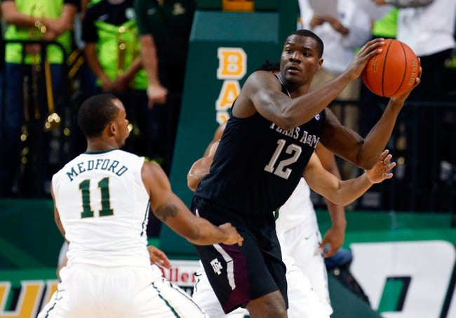 Texas A&M vs. Mississippi State - 1/13/15 College Basketball Pick, Odds, and Prediction