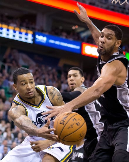 San Antonio Spurs vs. Utah Jazz - 1/18/15 NBA Pick, Odds, and Prediction