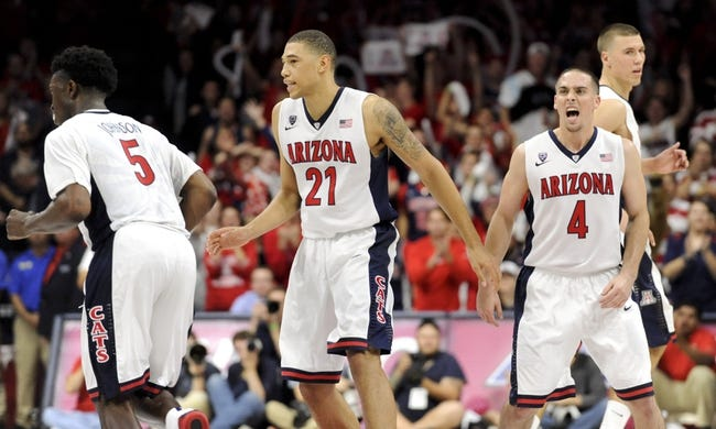 Arizona vs. Michigan - 12/13/14 College Basketball Pick, Odds, and Prediction