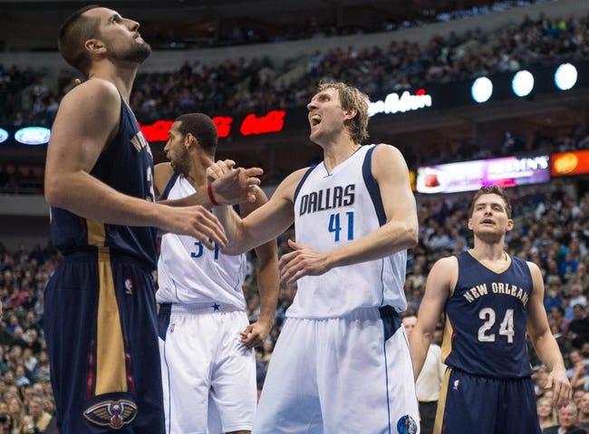 Pelicans vs. Mavericks - 1/25/15 NBA Pick, Odds, and Prediction