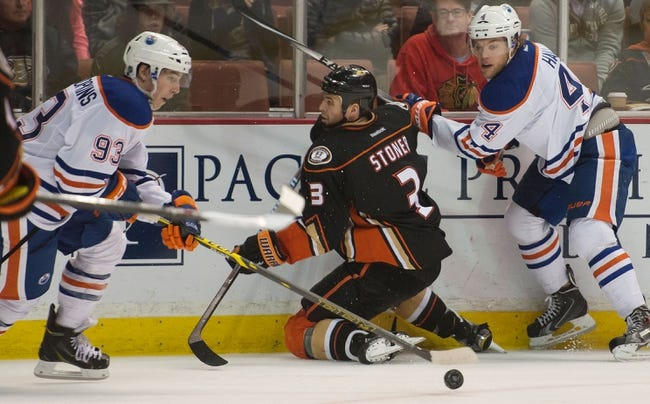 Edmonton Oilers vs. Anaheim Ducks - 12/12/14 NHL Pick, Odds, and Prediction