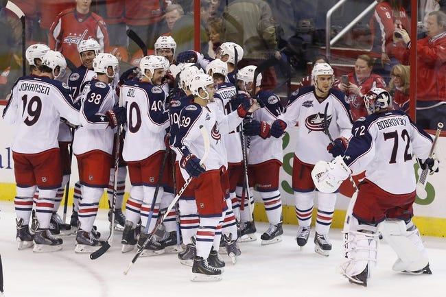 Columbus Blue Jackets vs. Washington Capitals - 12/18/14 NHL Pick, Odds, and Prediction