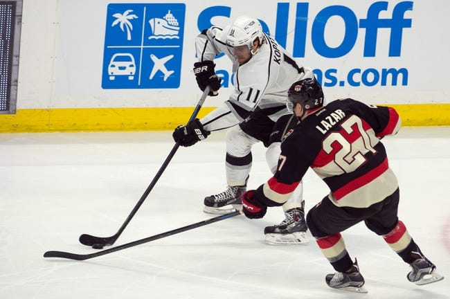 NHL | Ottawa Senators (25-23-10) at Los Angeles Kings (29-18-12)