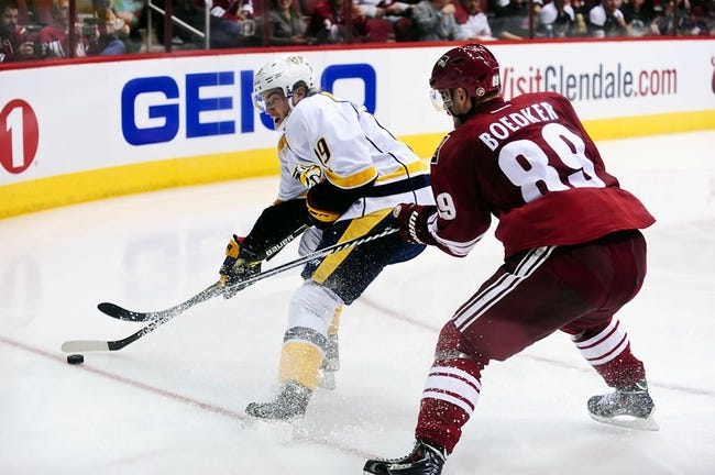 NHL | Nashville Predators (41-19-7) at Arizona Coyotes (21-38-7)