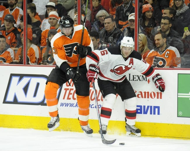 New Jersey Devils vs. Philadelphia Flyers - 1/3/15 NHL Pick, Odds, and Prediction