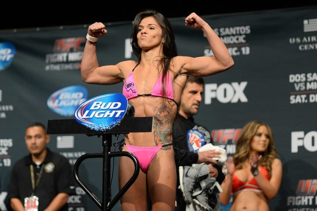 Claudia Gadelha vs. Jessica Aguilar MMA Pick, Preview, Odds, Prediction - 8/1/15