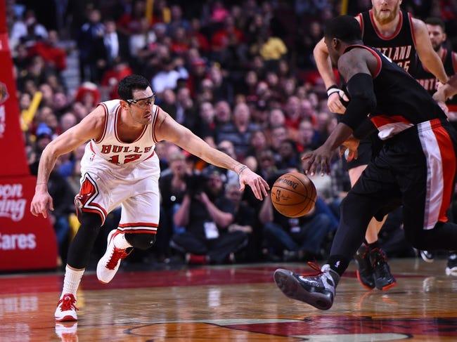 Portland Trail Blazers vs. Chicago Bulls - 11/24/15 NBA Pick, Odds, and Prediction