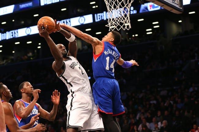 Brooklyn Nets vs. Philadelphia 76ers - 1/9/15 NBA Pick, Odds, and Prediction