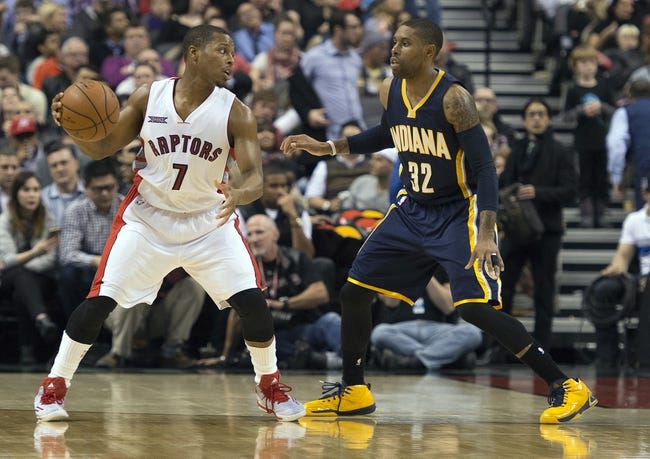 Pacers vs. Raptors - 1/27/15 NBA Pick, Odds, and Prediction