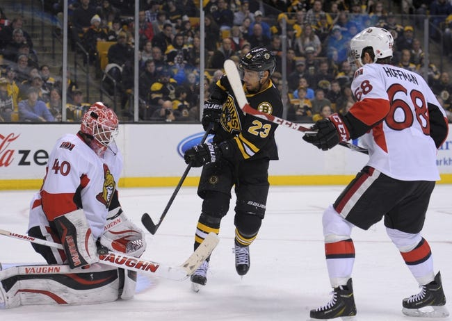 Bruins vs. Senators - 1/3/15 NHL Pick, Odds, and Prediction