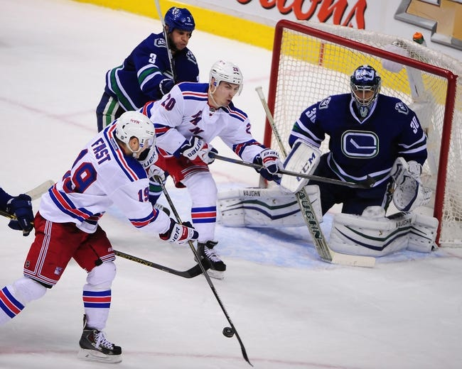 New York Rangers vs. Vancouver Canucks - 2/19/15 NHL Pick, Odds, and Prediction