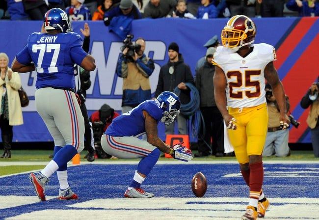 Giants vs. Redskins - 9/24/15 NFL Pick, Odds, and Prediction