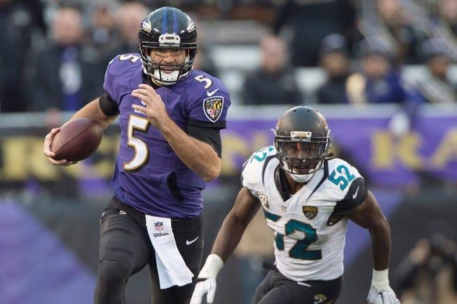 Baltimore Ravens vs. Jacksonville Jaguars - 11/15/15 NFL Pick, Odds, and Prediction