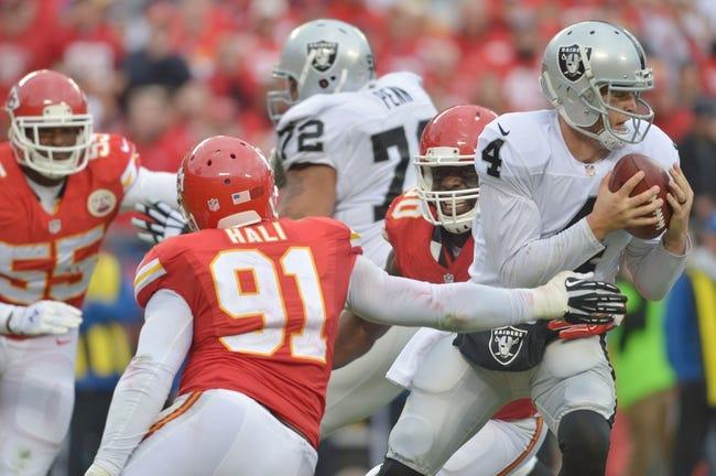 Oakland Raiders vs. Kansas City Chiefs - 12/6/15 NFL Pick, Odds, and Prediction