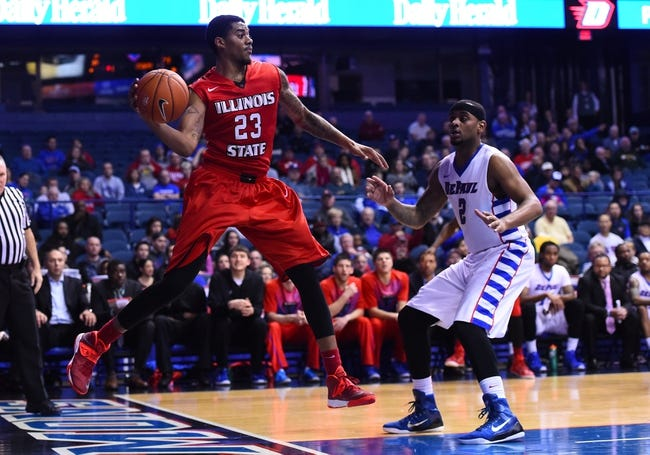 Illinois State Redbirds vs. Tennessee-Martin Skyhawks - 12/17/14 College Basketball Pick, Odds, and Prediction