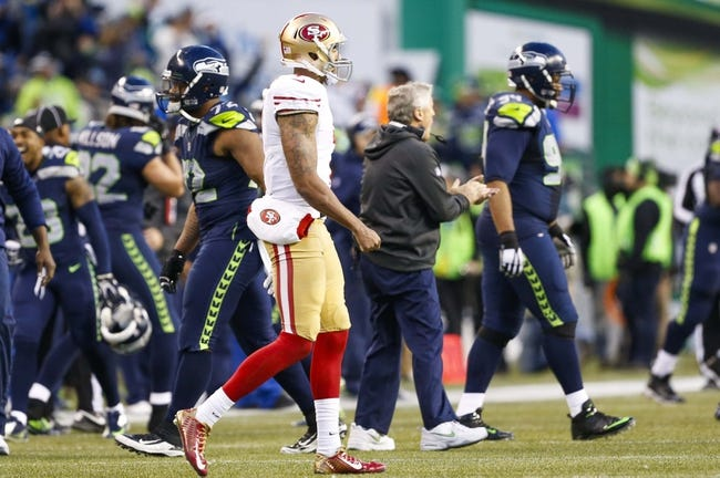 San Francisco 49ers vs. Seattle Seahawks - 10/22/15 NFL Pick, Odds, and Prediction