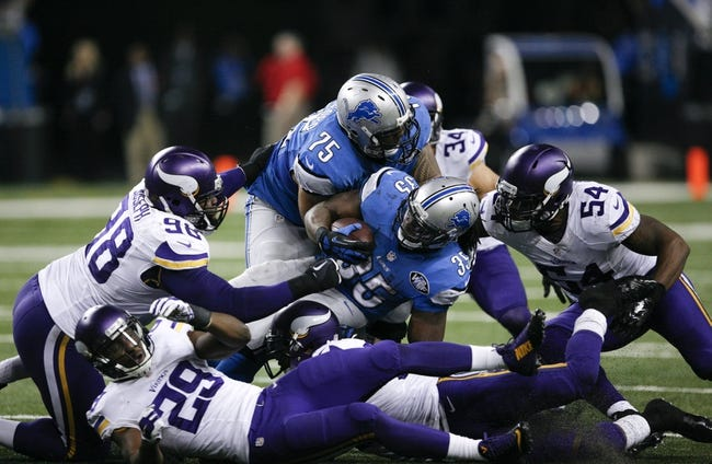 Minnesota Vikings vs. Detroit Lions - 9/20/15 NFL Pick, Odds, and Prediction