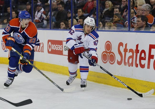 Edmonton Oilers vs. New York Rangers - 12/11/15 NHL Pick, Odds, and Prediction