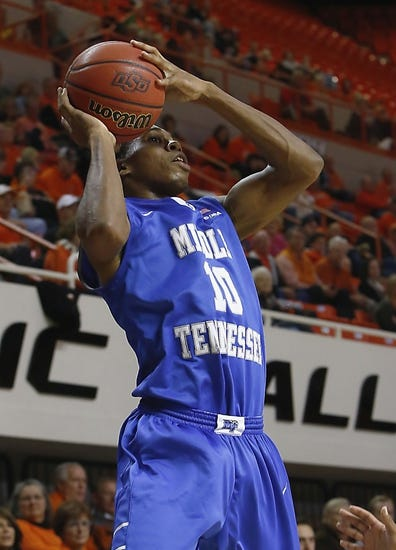 Middle Tennessee Blue Raiders vs. Tennessee State Tigers - 12/21/14 College Basketball Pick, Odds, and Prediction