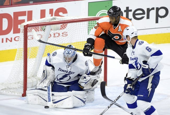 Flyers vs. Lightning - 1/12/15 NHL Pick, Odds, and Prediction
