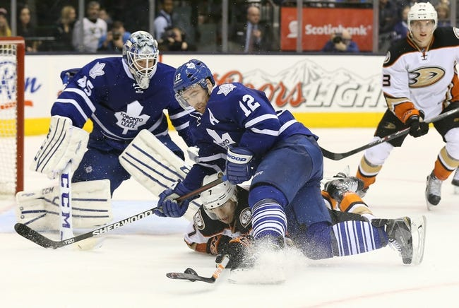 NHL | Toronto Maple Leafs (22-18-3) at Anaheim Ducks (27-10-6)