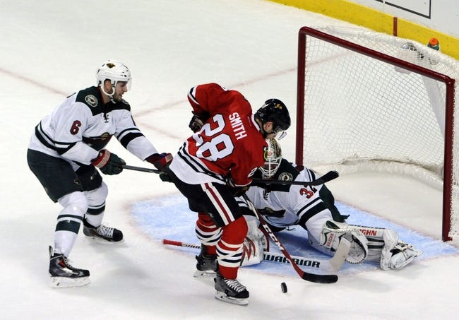 Wild vs. Blackhawks - 1/8/15 NHL Pick, Odds, and Prediction