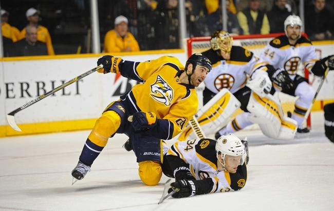 Bruins vs. Predators - 12/23/14 NHL Pick, Odds, and Prediction