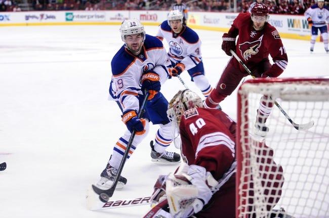 Edmonton Oilers vs. Arizona Coyotes - 12/23/14 NHL Pick, Odds, and Prediction