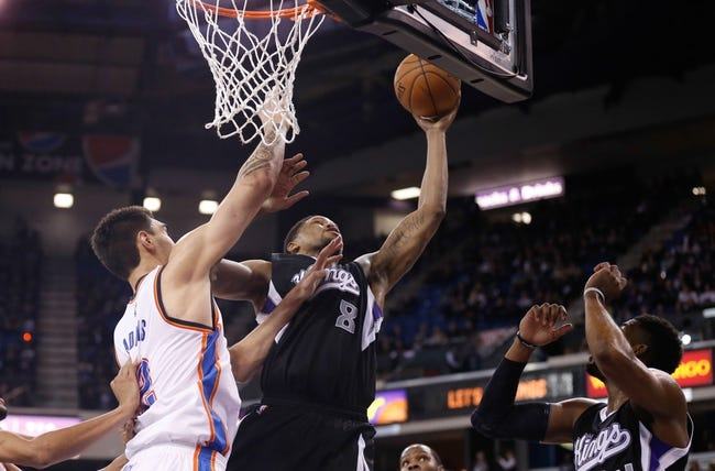 Kings vs. Thunder - 1/7/15 NBA Pick, Odds, and Prediction