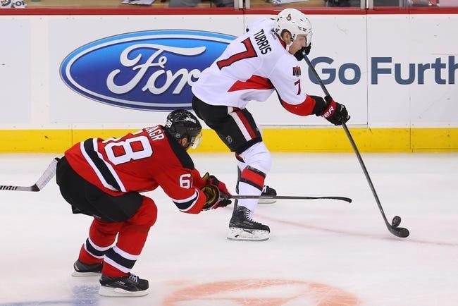 Devils vs. Senators - 2/3/15 NHL Pick, Odds, and Prediction