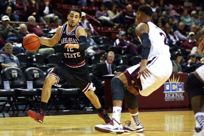 Arkansas State Red Wolves vs. Georgia State Panthers - 1/19/15 College Basketball Pick, Odds, and Prediction