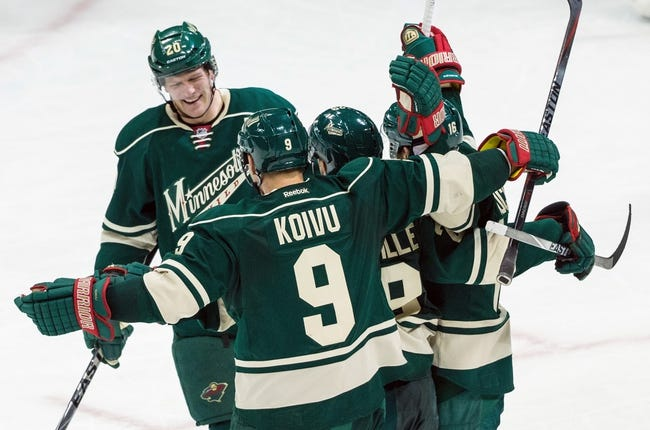 Boston Bruins vs. Minnesota Wild - 11/19/15 NHL Pick, Odds, and Prediction