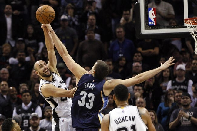Grizzlies vs. Spurs - 12/30/14 NBA Pick, Odds, and Prediction