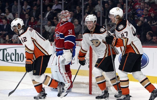 NHL | Montreal Canadiens (41-17-5) at Anaheim Ducks (40-17-7)