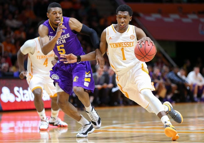 Tennessee vs. Mercer - 12/22/14 College Basketball Pick, Odds, and Prediction