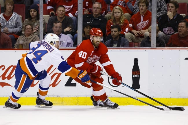 Red Wings vs. Islanders - 1/31/15 NHL Pick, Odds, and Prediction