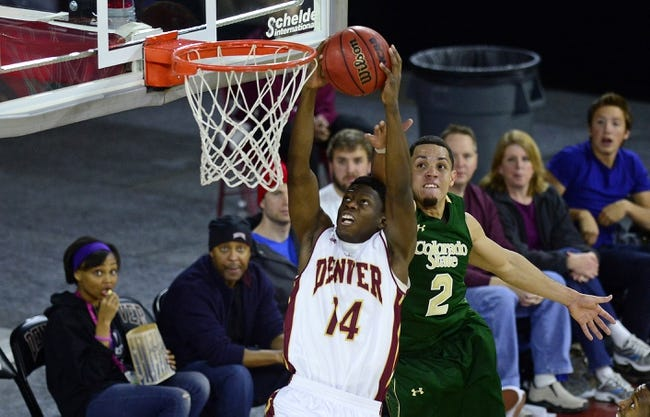 Denver Pioneers vs. Oral Roberts Golden Eagles - 1/21/15 College Basketball Pick, Odds, and Prediction