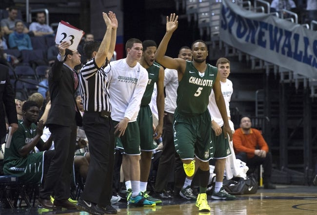 Charlotte vs. Old Dominion - 1/4/15 College Basketball Pick, Odds, and Prediction