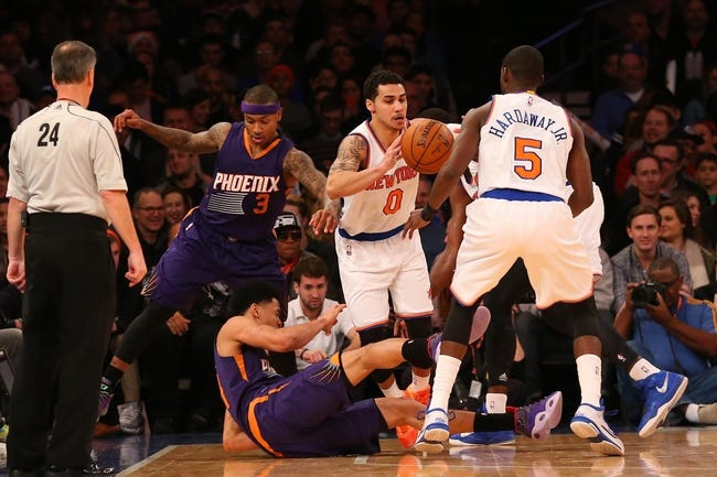 Suns vs. Knicks - 3/15/15 NBA Pick, Odds, and Prediction